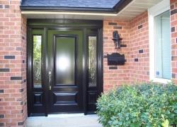 black-executive-door