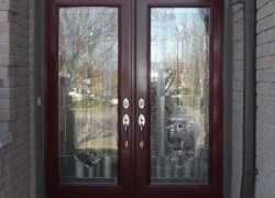 double-doors-burgandy